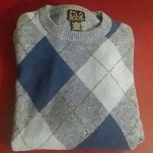 New Jos. A. Bank Lambs Wool Sweater.